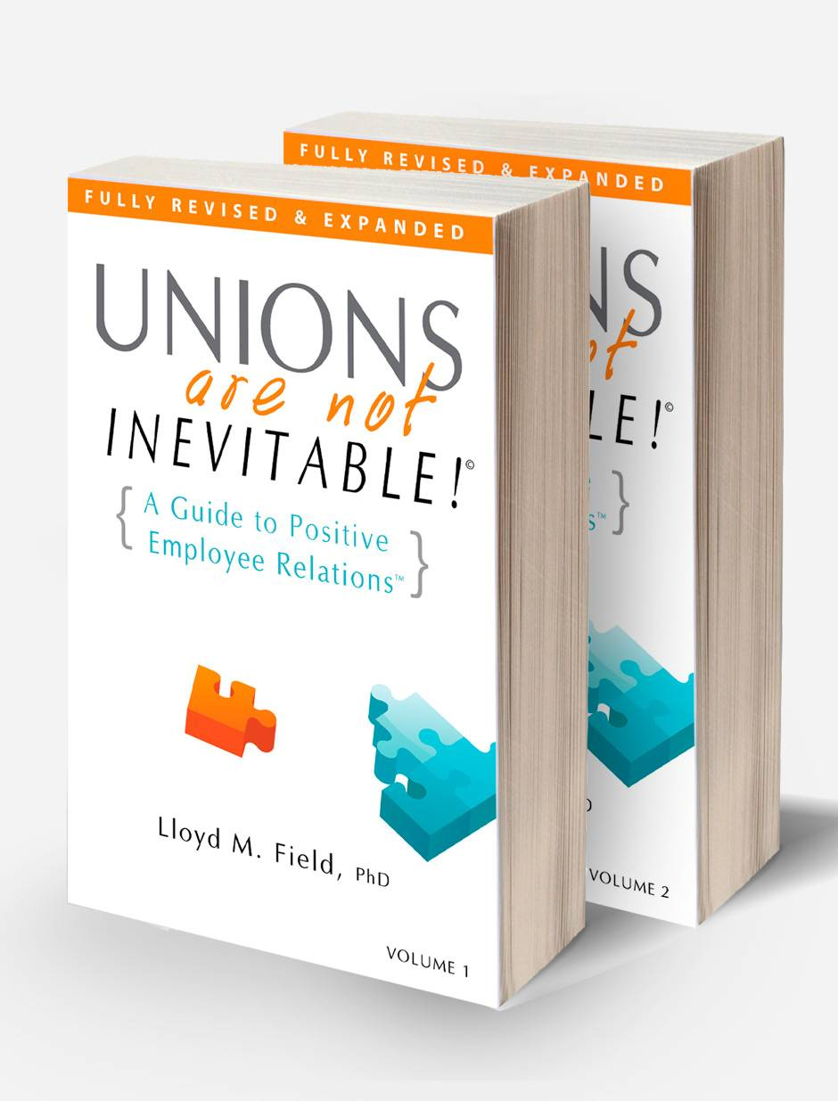 Unions are not Inevitable cover design and book layout