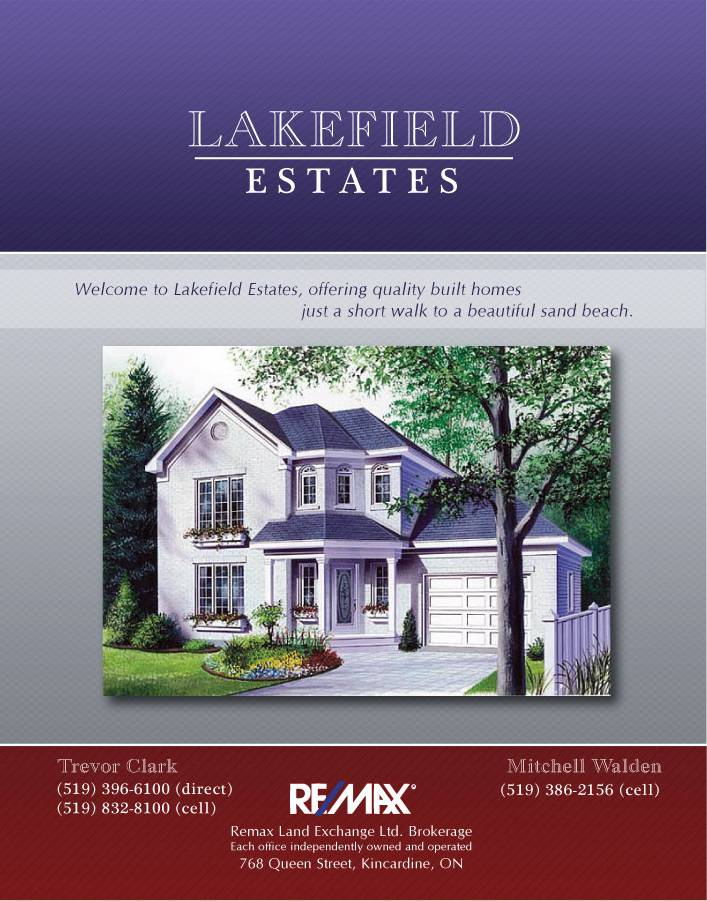 Lakefield Estates Folder Cover