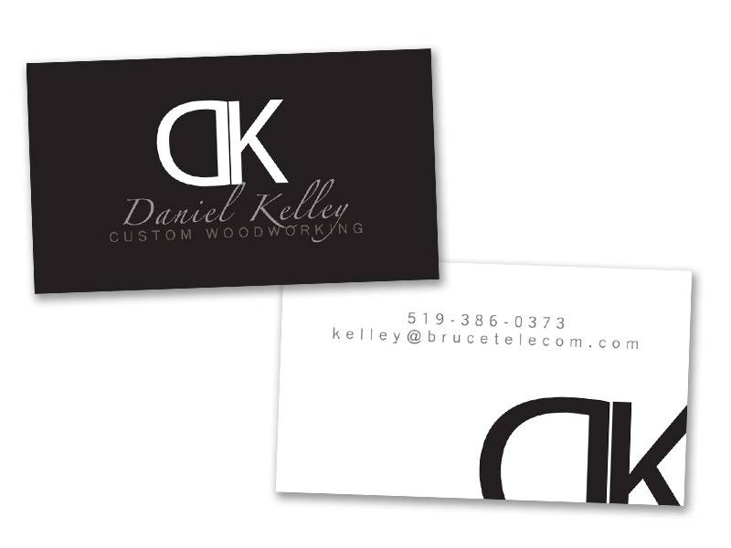 Daniel Kelley Business Card design