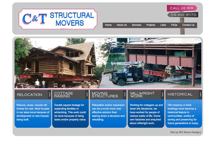 C & T Structural Movers