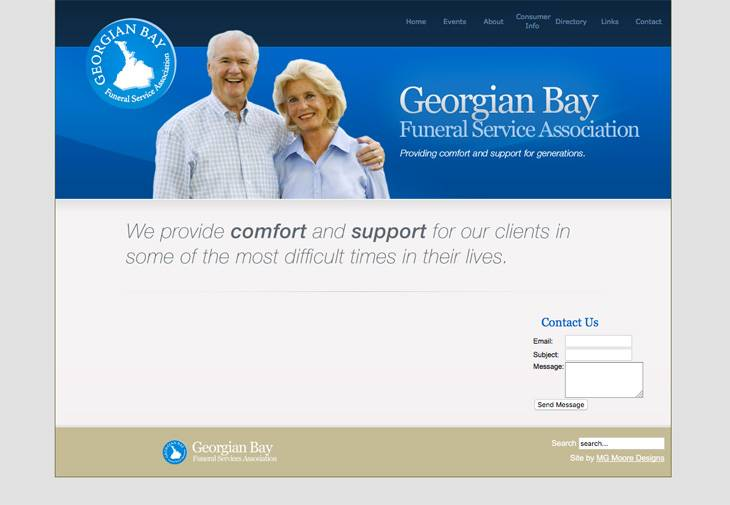 Georgian Bay Funeral Service Association