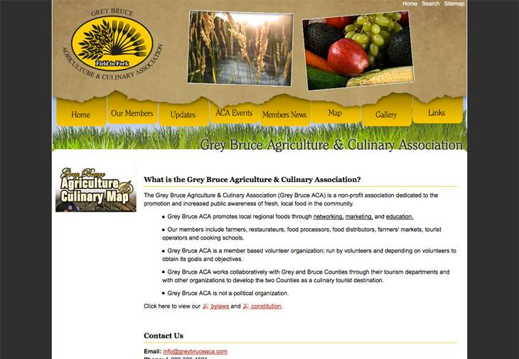 Grey Bruce Agriculture & Culinary Association
